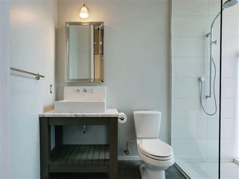 Gray Washstand   Modern   bathroom   JAS Design Build
