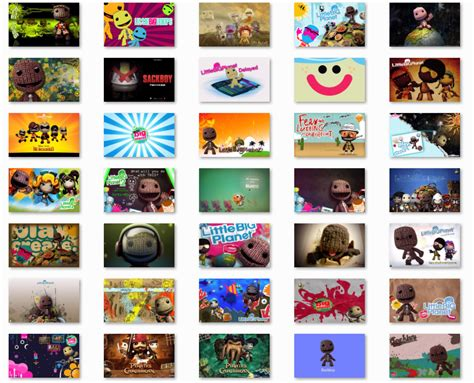 free download themes for windows 7 with icons little big planet windows 7 themewindows themes free