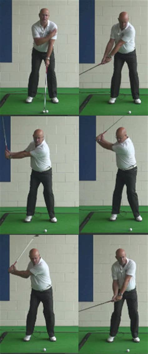 hands in the golf swing takeaway think clubhead outside the hands for solid takeaway