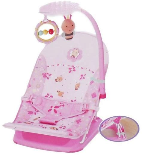 Sugar Baby Fold Up Infant Seat I Pink Baby Bouncer souq mastela 07215 fold up infant seat pink