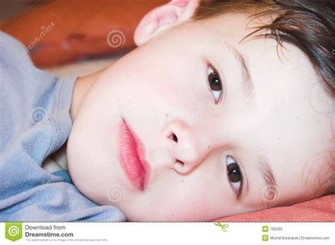 lie on the bed boy lie on the bed stock photo image 792260