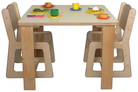 table and chairs preschool table and chair set marceladick