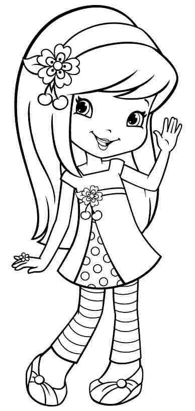 cherry jam coloring pages intended to motivate in coloring