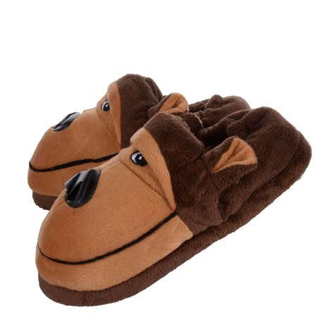 toddler character slippers novelty gift character animal fleece slippers