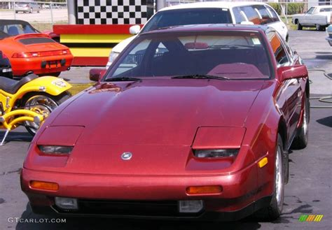 1987 burgundy nissan 300zx gs hatchback 392101 photo 21 gtcarlot car color galleries