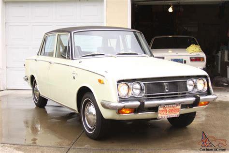 1970 Toyota Corona 1970 Toyota Corona Base Sedan 4 Door 1 9l