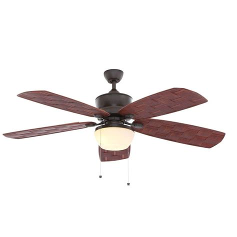 indoor outdoor ceiling fans hton bay rocio natural iron indoor outdoor ceiling fan