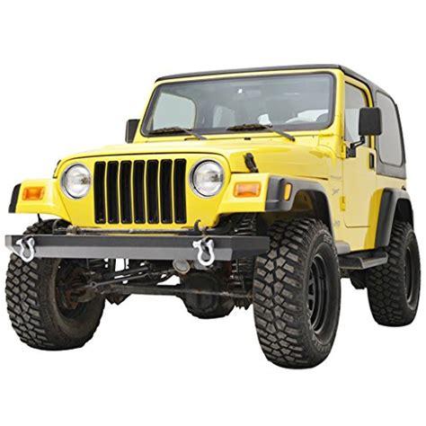 jeep wrangler yj front bumper e autogrilles black front bumper jeep wrangler tj yj