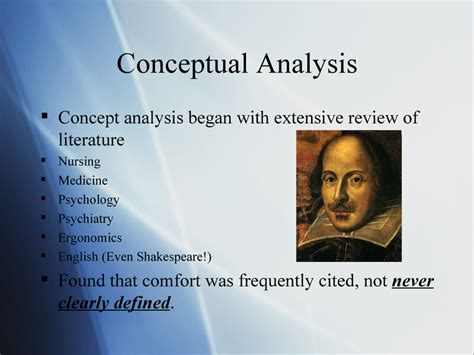 Comfort Care Definition by Comfort Theory Kathy Kolcaba Presentation By Erin