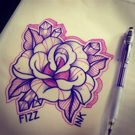 diamond tattoo neo traditional 250 best tattoo old school roses images on pinterest