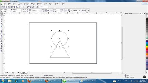 tutorial coreldraw membuat kartu ucapan tutorial coreldraw membuat logo coreldraw making a