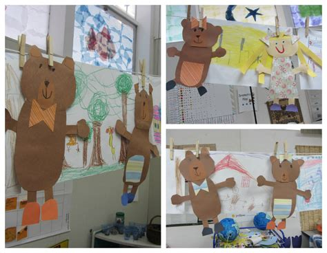 goldilocks themes goldilocks and the three bears craft nursery rhymes