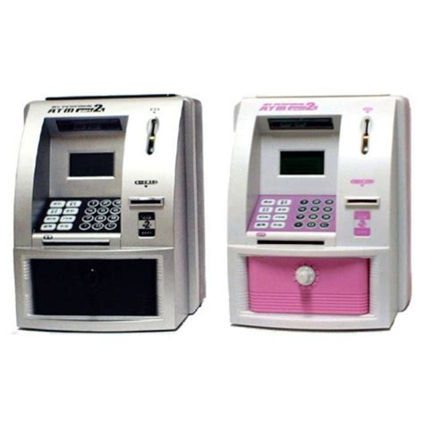bank atm machine my personal atm money coin bank machine with digital