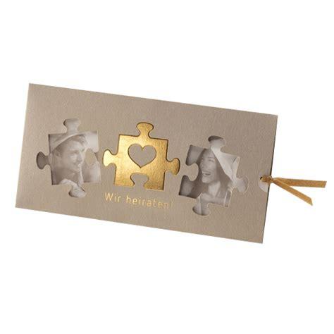 Hochzeitseinladung Puzzle by Einladungskarten Hochzeit Puzzle Kathyprice Info