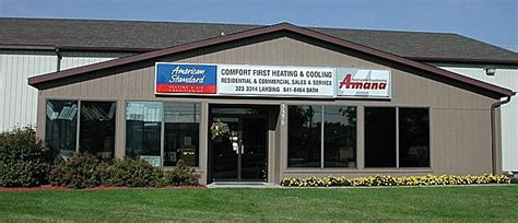 comfort first heating and cooling comfort first heating cooling in lansing mi 48906