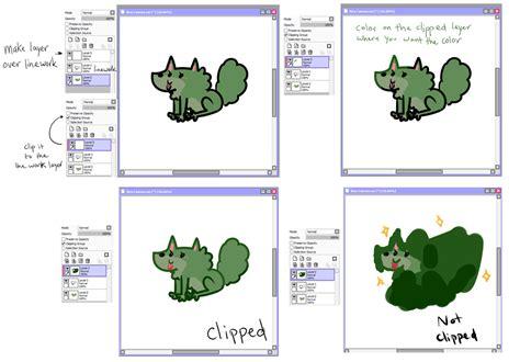paint tool sai linework layer tutorial sai clipping linework tutorial by kinla on deviantart