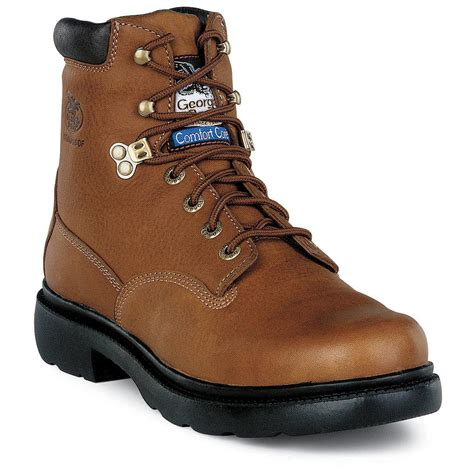 stalen boot men s georgia boots 174 6 quot steel toe renegade boots 133407