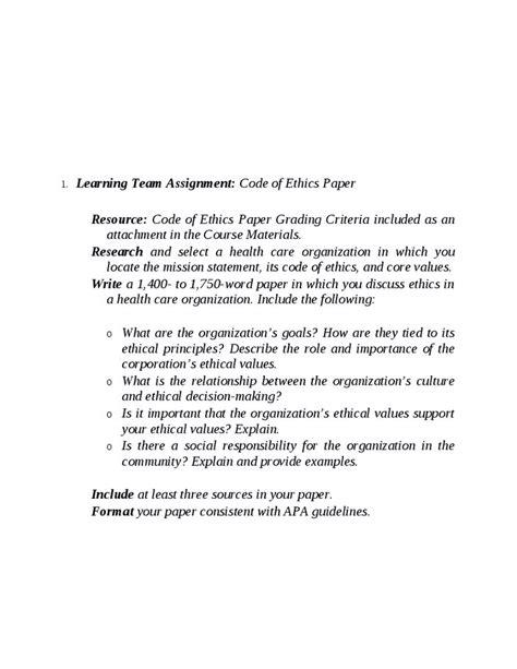 Nursing Ethics Essay by Nursing Ethics Essay