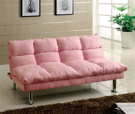 little sofas furniture of america saratoga microfiber futon sofa bed
