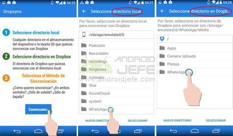 imagenes whatsapp jefe sincronizar tu whatsapp con dropbox fotos etc android