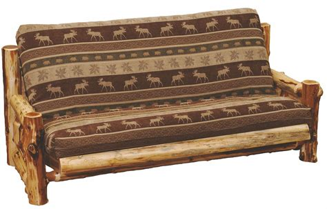 Cedar Futon With 8 Quot Inner Spring Mattress From Fireside