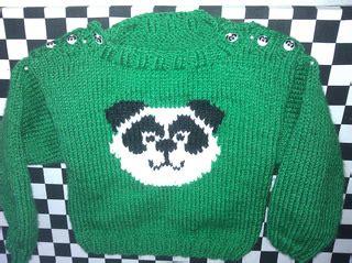 knitting pattern panda jumper ravelry panda jumper pattern by kirstie mcleod
