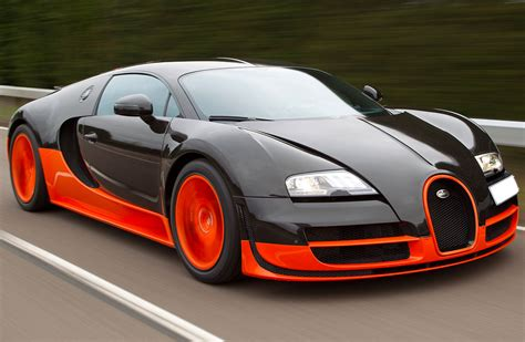 gallery bugatti veyron orange and black back