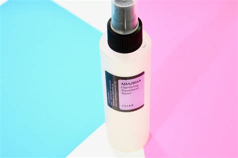 Toner Aha review cosrx aha bha clarifying treatment toner review