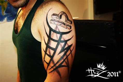 libra tribal tattoo gallery tribal tattoos and designs