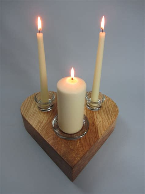 Unity Candle by Wedding Unity Candle Holder Wedding Gifts Wooden