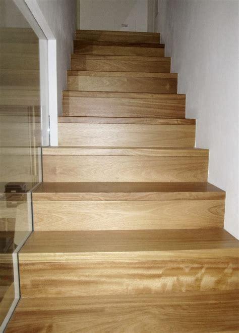 scale rivestite in legno scale in cemento con gradini in massello magnani ricci