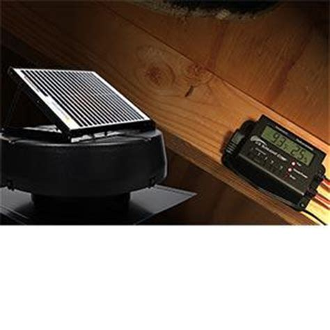 who replaces attic fans costco offers solar powered attic fan 1010tr paperblog