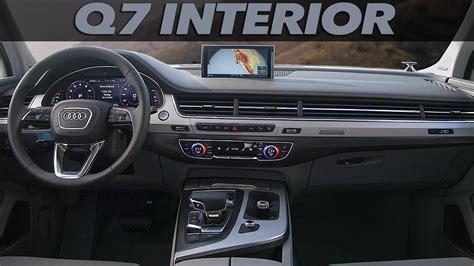 Q7 Interior by All New Audi Q7 Interior Design