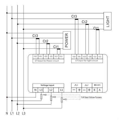 3 phase kwh meter wiring diagram utility meter wiring