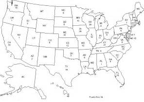 us map with states numbered maps united states map numbered
