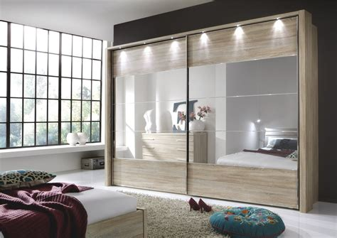 glass mirror wardrobe doors stylform eos sliding doors rustic oak glass mirror