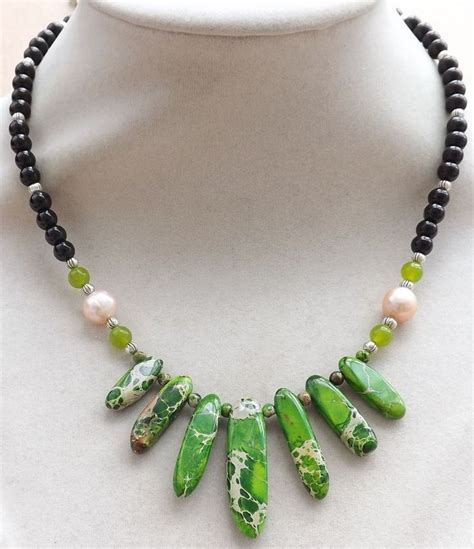 Handmade Bead Necklace - 25 best ideas about handmade necklaces on