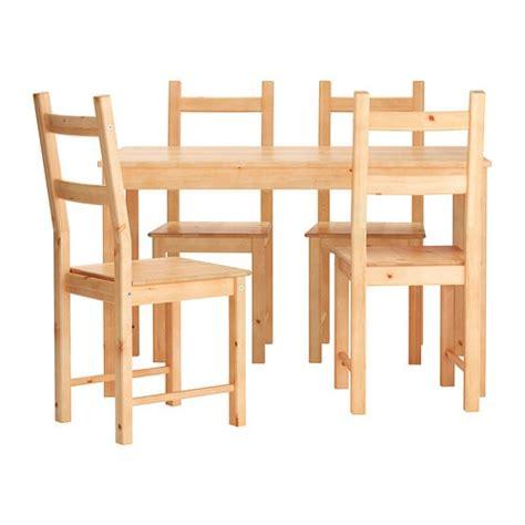 ingo ivar table and 4 chairs ikea