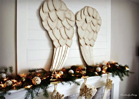 next home christmas decorations beautiful large angel wings a diy tutorial for festive