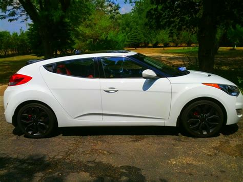 hyundai veloster turbo blacked out hyundai veloster white black rims www pixshark com
