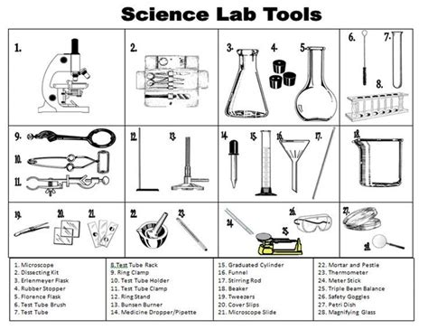 Lab Safety Worksheet Middle School by Best 25 Lab Equipment Ideas On Chemistry Lab