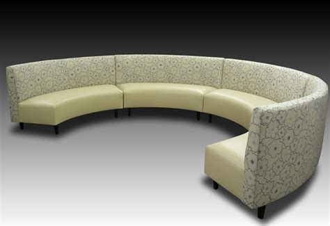 curved upholstered banquette curved banquette seating pictures banquette design