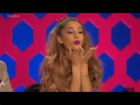 whats ariana grandes race ariana grande demi lovato guest judges on rupaul s drag