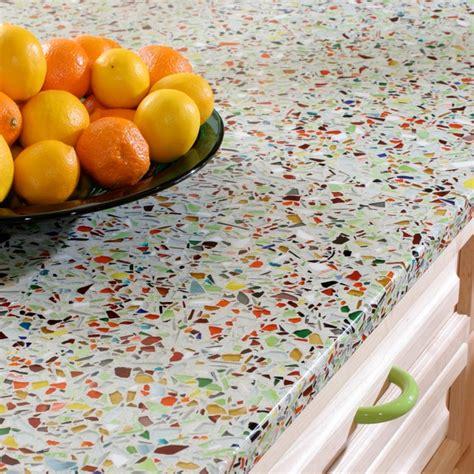 recycled glass countertops australia vetrazzo millefiori kitchen countertops by latera
