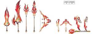 weapon lv38 fire dragonica concept 44 dragonica