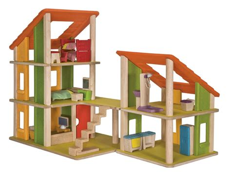 plan toys wooden doll house modern plantoys chalet dollhouse wooden dolls house plan toys doll furniture ebay