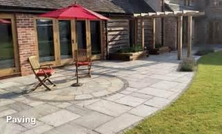 terrasse pflastersteine patio paving slabs driveway block paving
