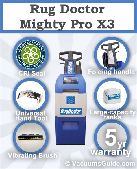 How Much Is A Rug Doctor To Rent by Rug Doctor Mighty Pro X3 Renting Or Buying Best