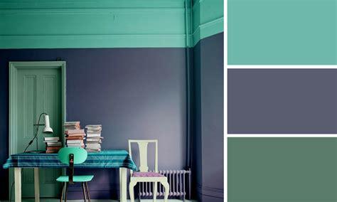 le de bureau verte quelle couleur mettre avec du violet