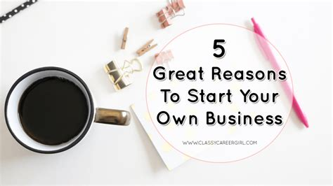 Reasons To Start Your Own Business by What You Missed This Week Career